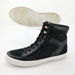 Rebecca Minkoff Smith Studded Leather High Tops